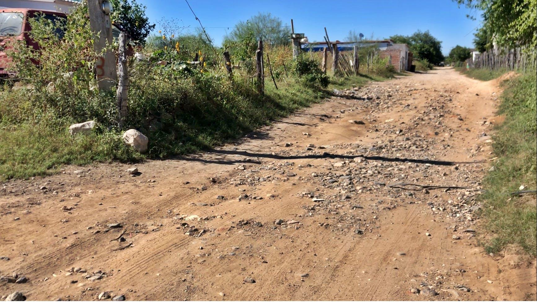 Pavimentación, Álamos. Colonia Loma Linda.
