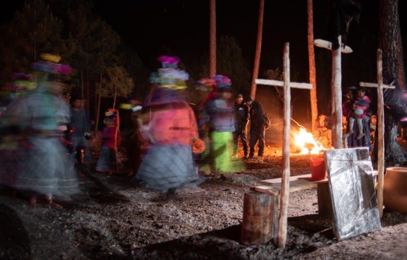 Fiesta en Bosques de Repechique.
