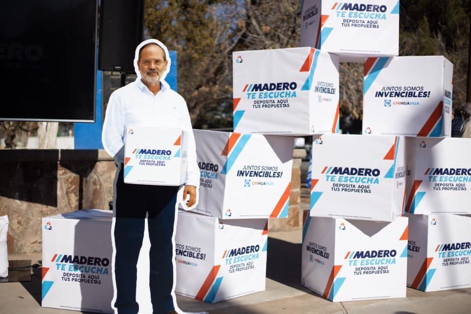 Propaganda gustavo Madero.