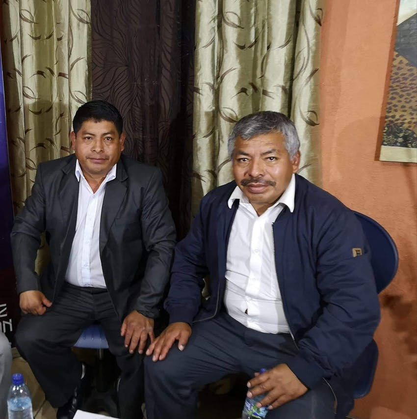 David y Ramiro Coronado Pérez.