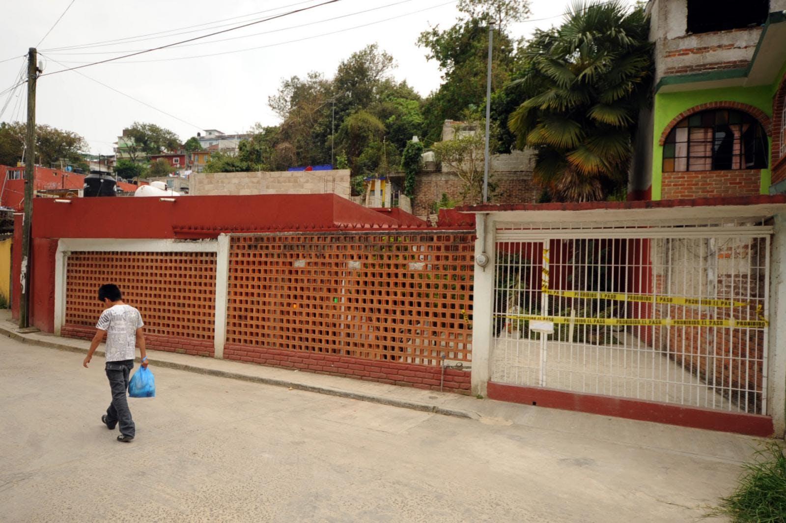 Casa de Regina Martínez en Xalapa
