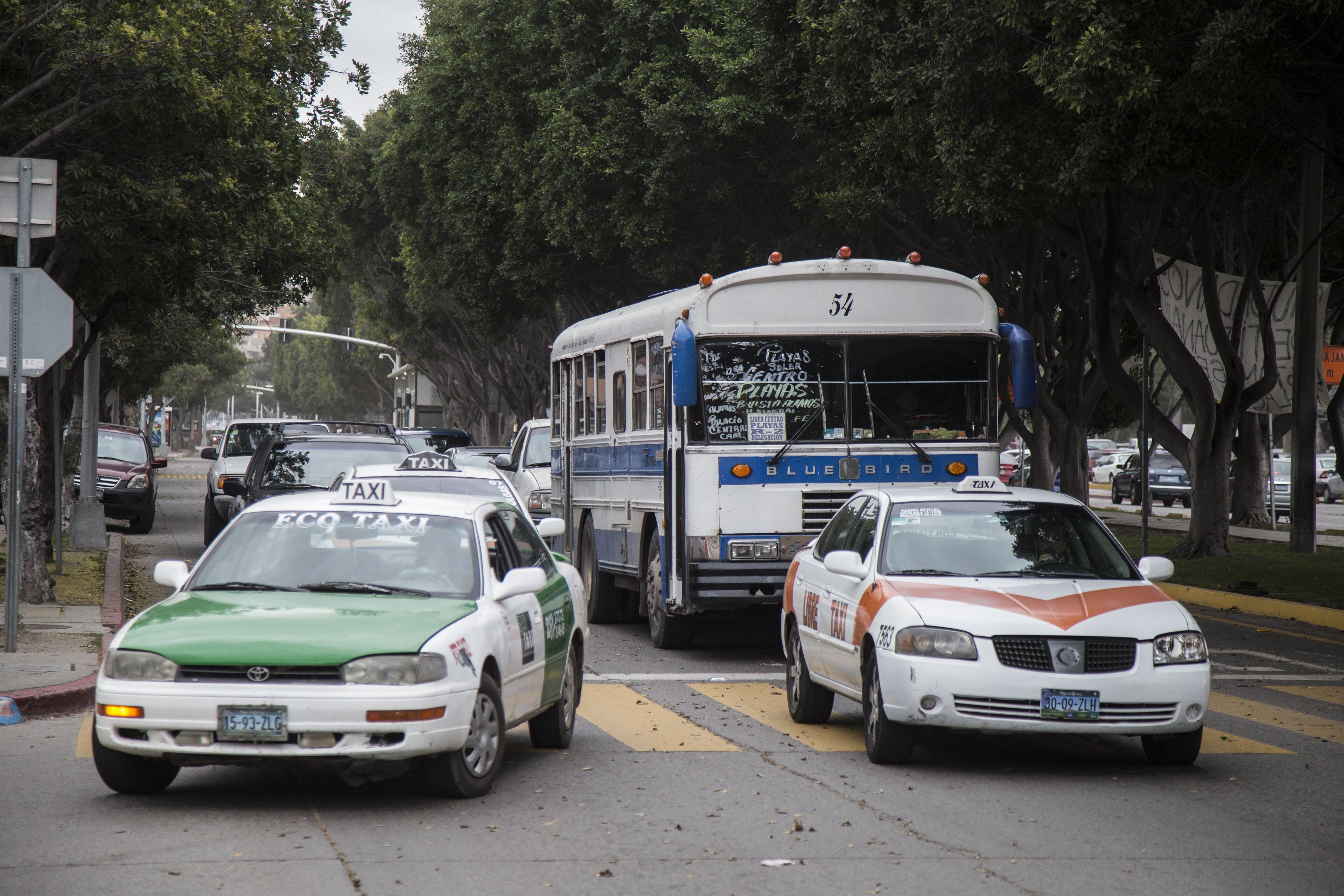Transoiorte Viejo en Tijuana.