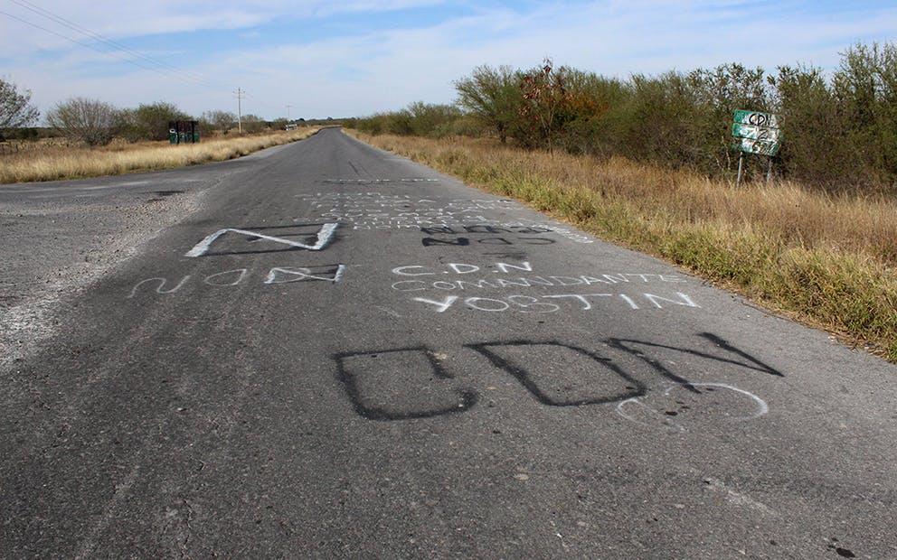 Letrero CDN Tamaulipas