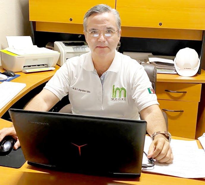 Jorge Moore, presidente del CPC del Sistema Anticorrupción de BCS