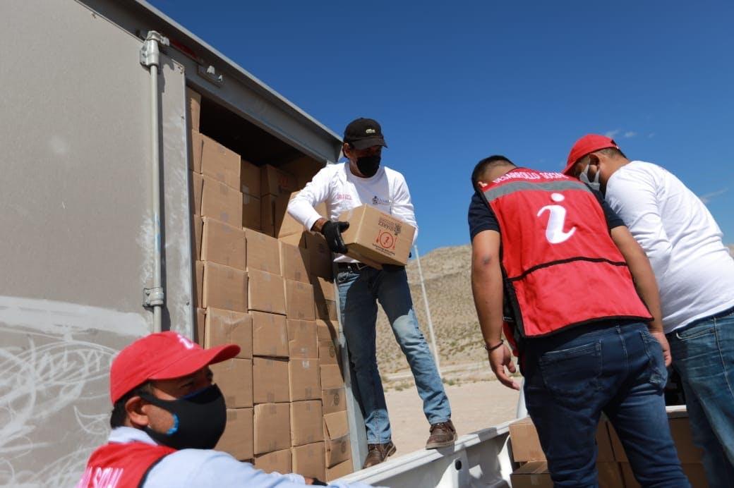 Despensas gobierno de Armando Cabada en Ciudad Juárez