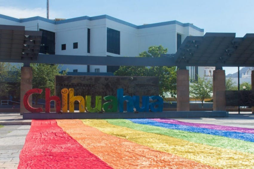Comité de la diversidad sexual en Chihuahua.