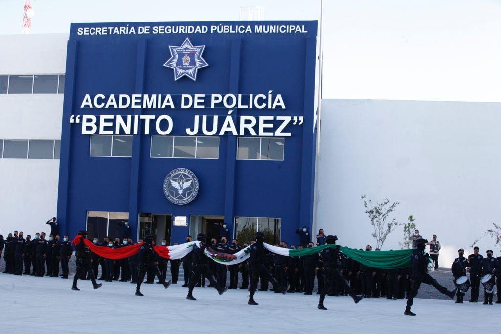 Academia de policía de Ciudad Juárez.