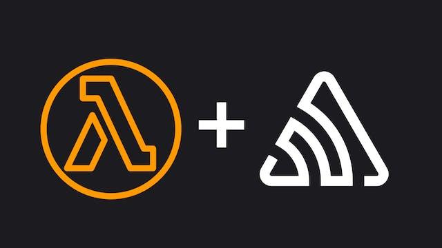 AWS Lambda and Sentry logo
