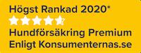 Högst Ranked 2020 Hundförsakring Premium Enligt Konsumenternas.se