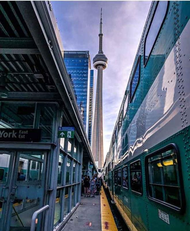 Consignación de Equipaje en Estación Toronto Union