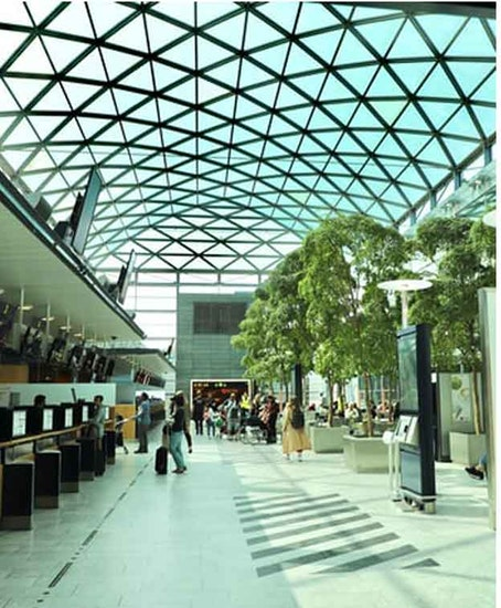 Copenhagen Airport 짐 보관소