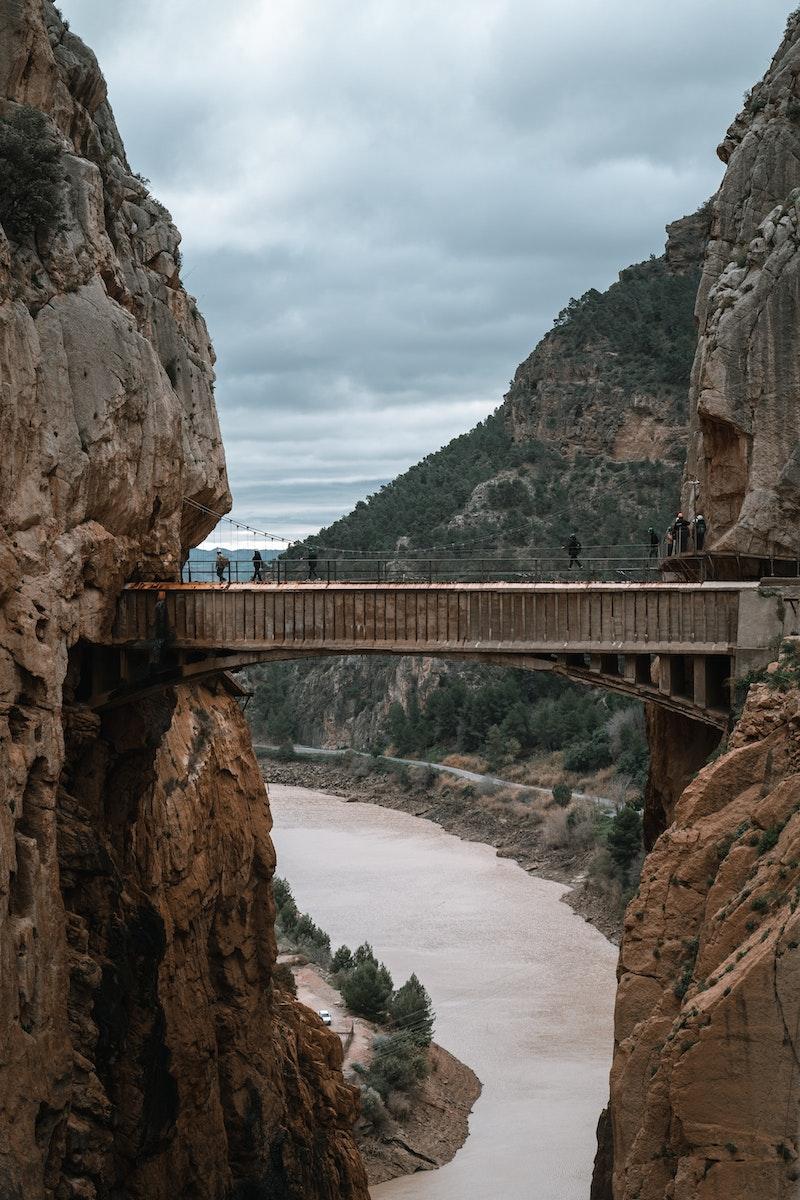Gaitanes Gorge, Malaga, Spain