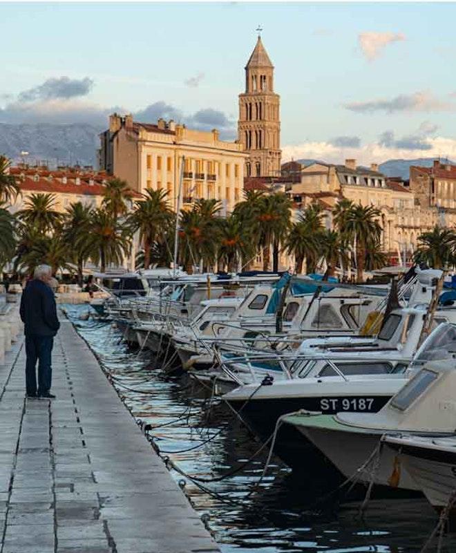 Gepäckaufbewahrung in Split Hafen
