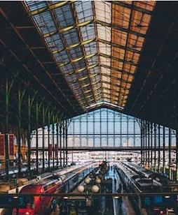 Arrêt de la Gare du Nord