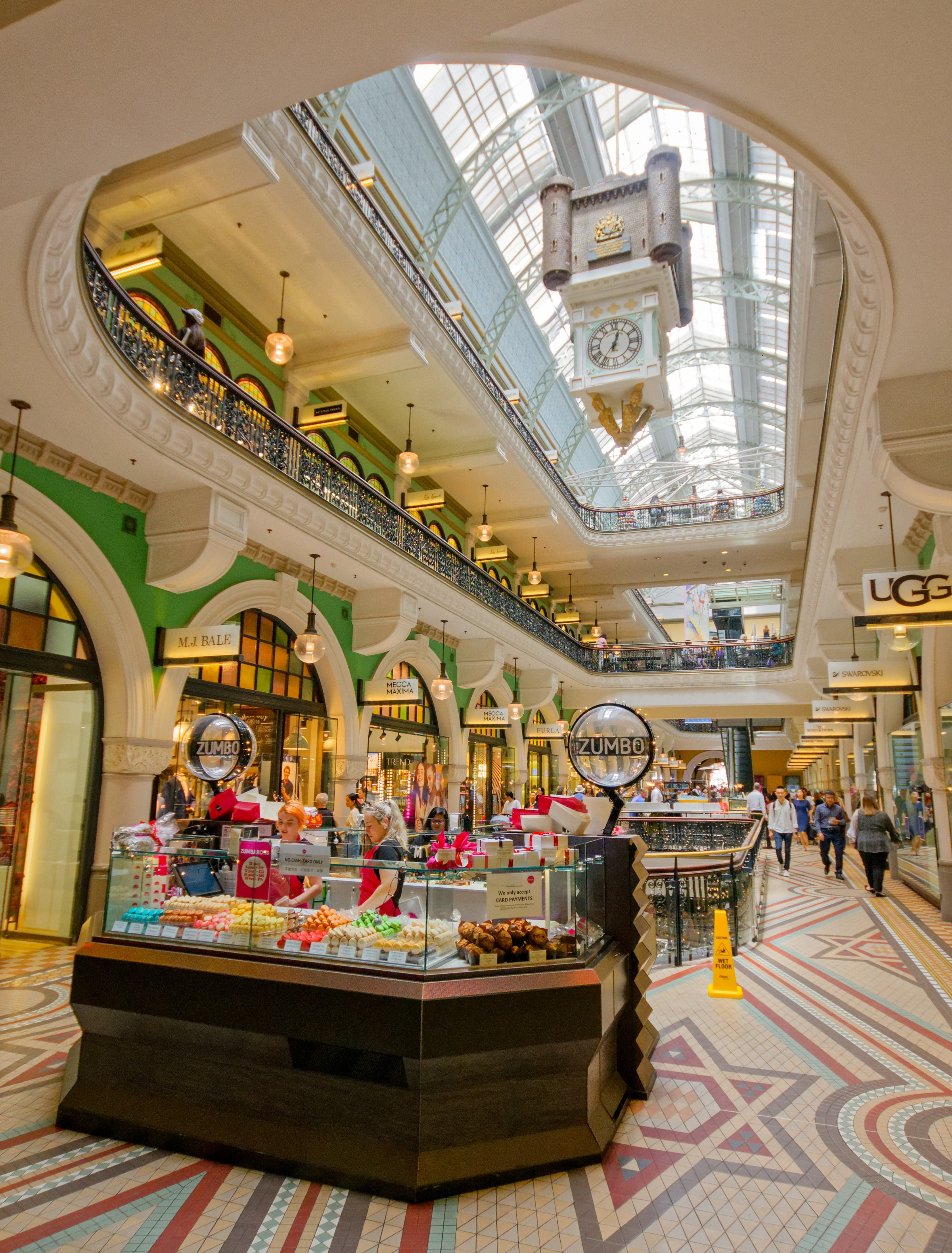 interior of Queen Victoria Building