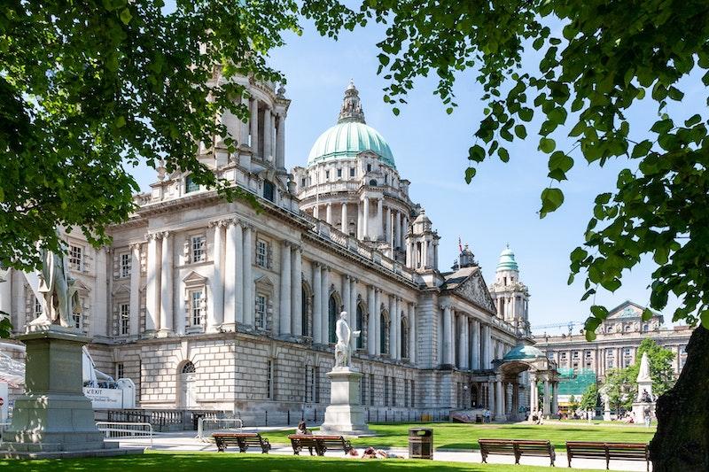city hall building in Belfast