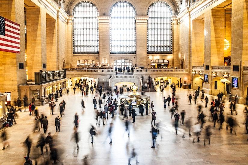 纽约中央火车站 行李寄存