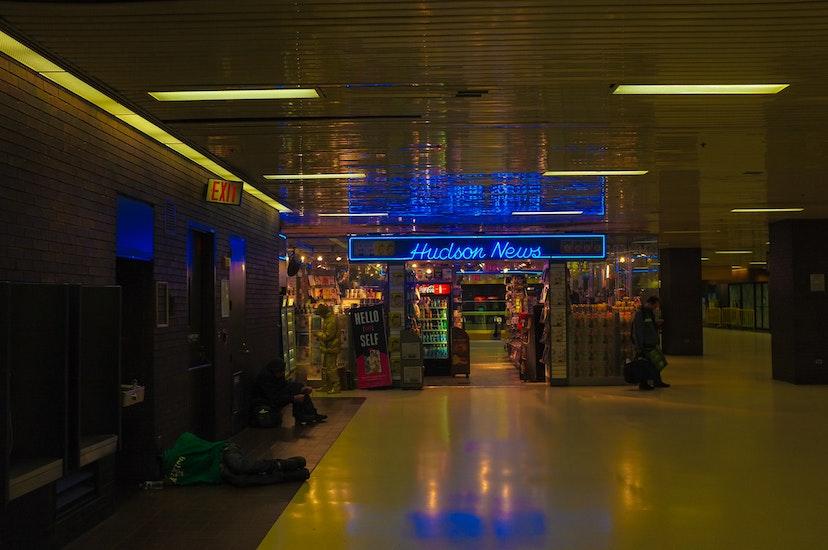 Gepäckaufbewahrung in Port Authority