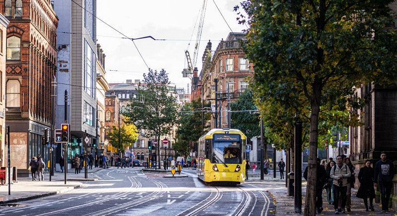 street view of Manchester