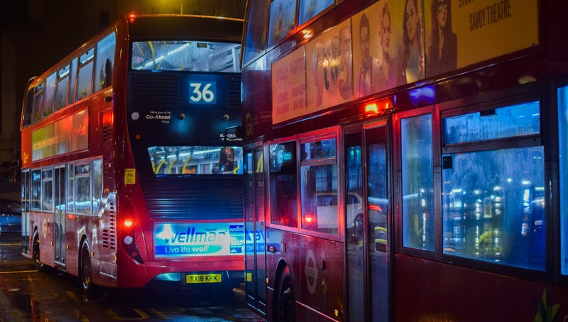 London buses, London, UK