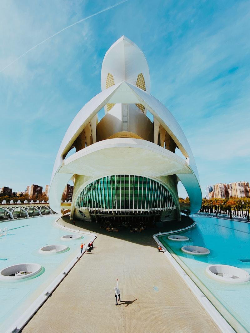Reina Sofia Palace of the Arts, Valencia, Spain