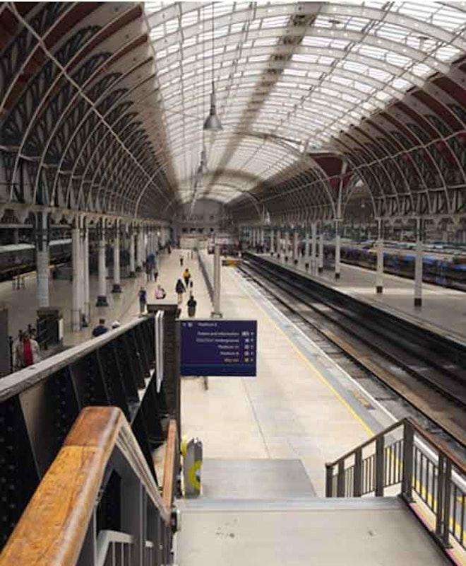 Depósito de Bagagem Estação Paddington