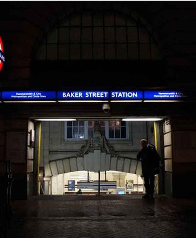Хранение багажа в Станция Бейкер-стрит