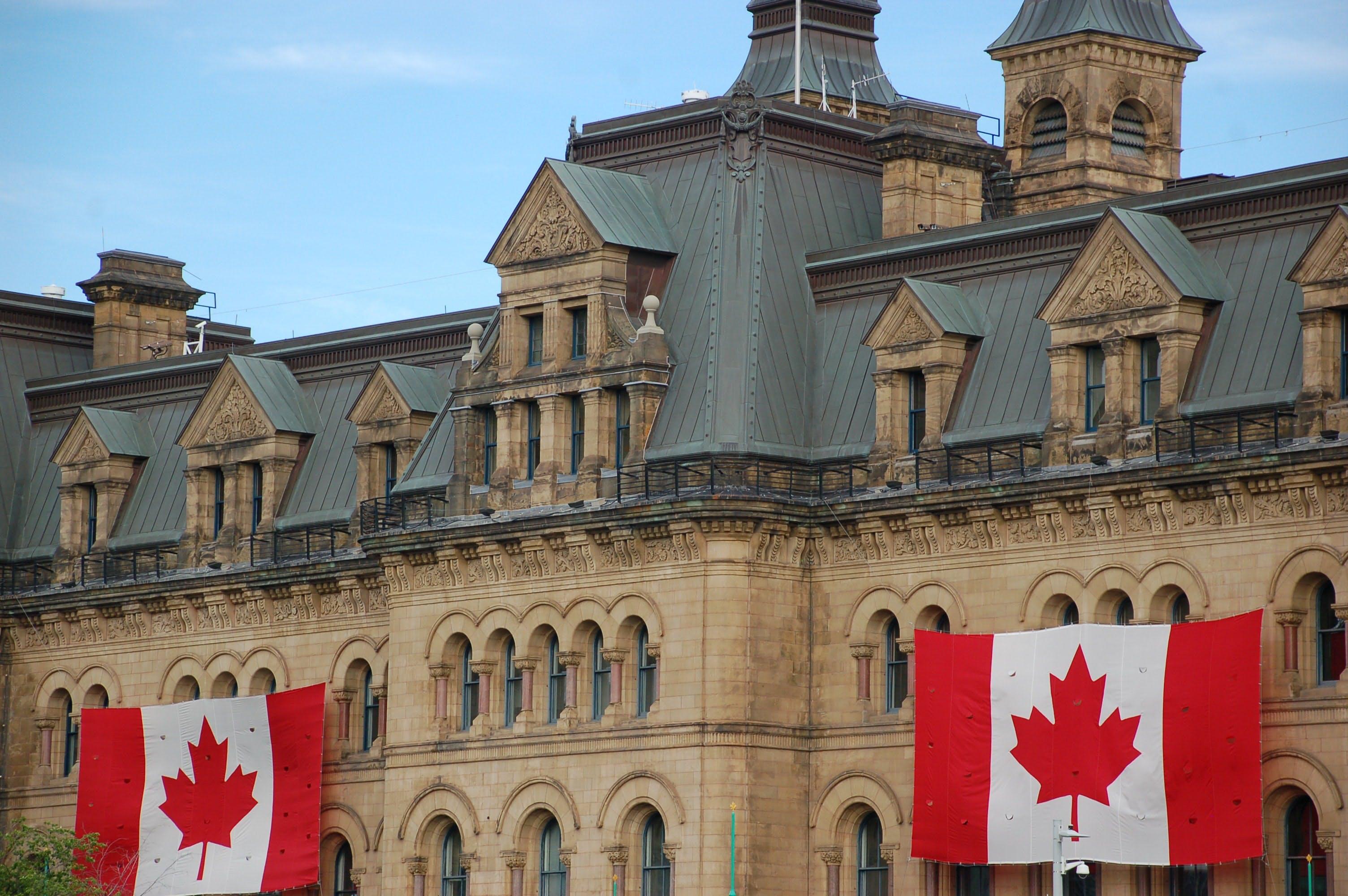 Government building in Ottawa, Canada