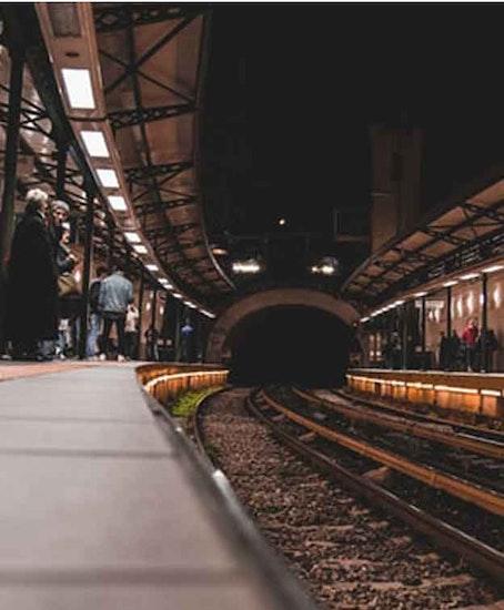 Consigne à bagage sur Athens Train Station