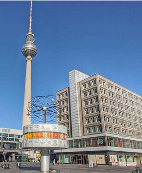 Consignación de Equipaje en Alexanderplatz Berlin