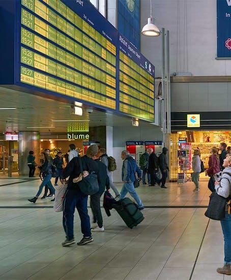 Gepäckaufbewahrung in Düsseldorf Hauptbahnhof