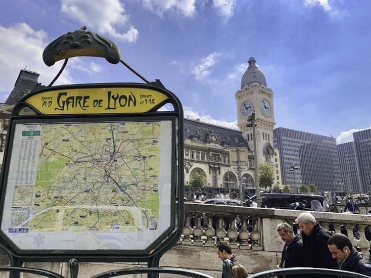 Consigne à bagage sur Gare de Lyon