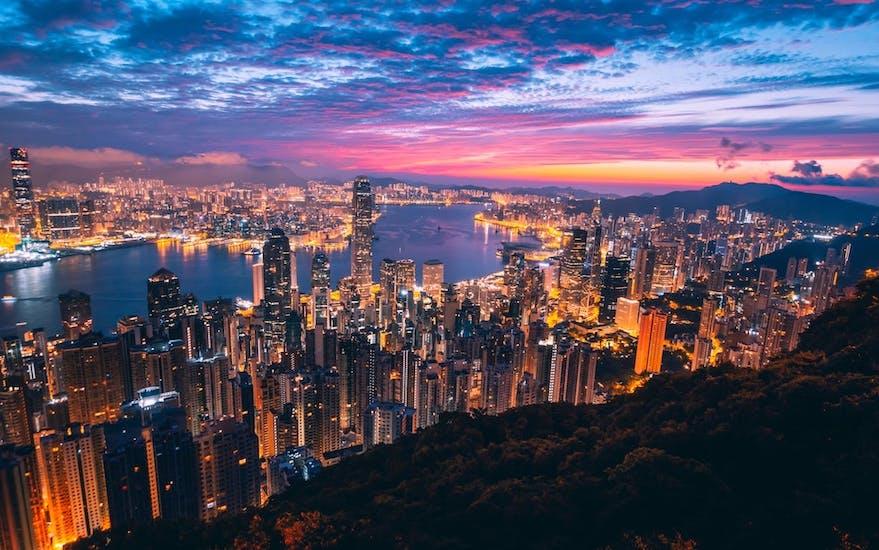 홍콩 짐 보관소