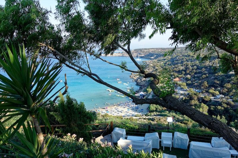 Sea view in Ayia Napa, Cypress