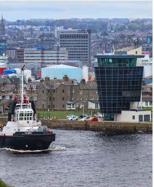 Depósito de Bagagem em Aberdeen