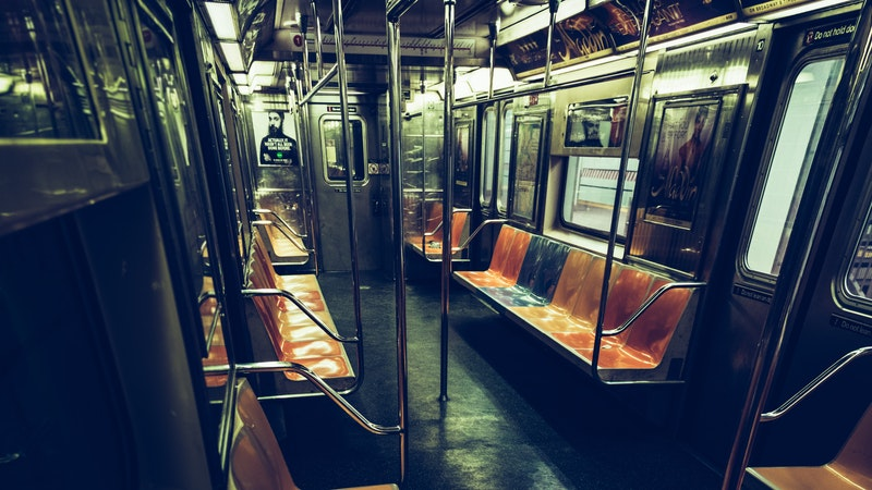 Subway train, New York
