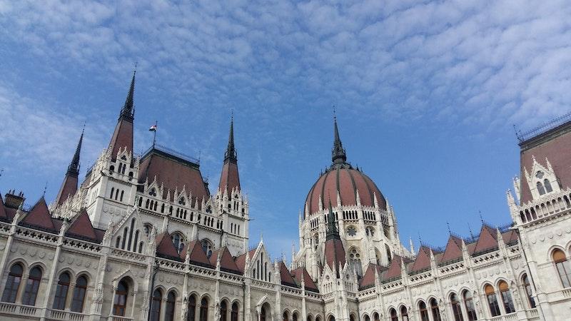 Budapest Parliament roofline