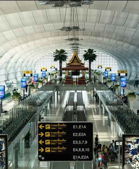Consignación de Equipaje en Aeropuerto de Bangkok (BKK)