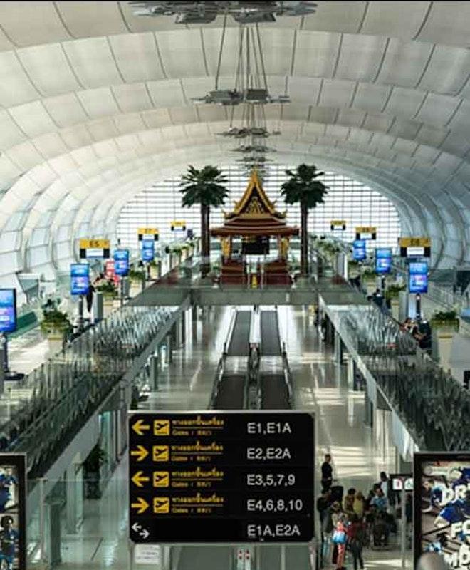 Depósito de Bagagem Aeroporto Banguecoque (BKK)