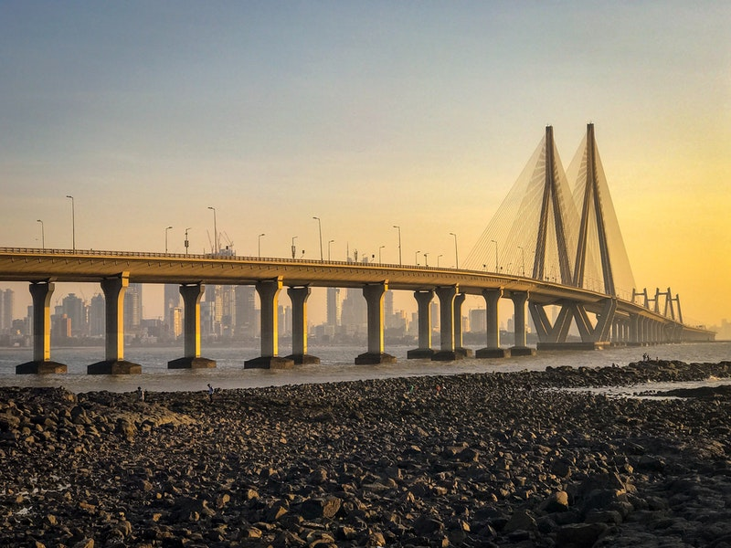 Bandra-Worli Sea Link bridge