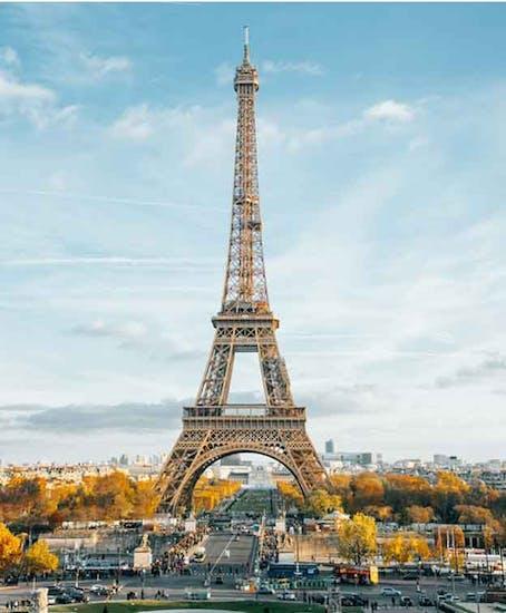 Gepäckaufbewahrung in Eiffel Tower