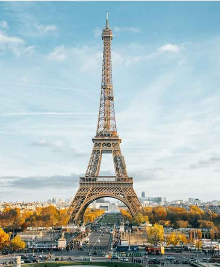 Хранение багажа в Eiffel Tower
