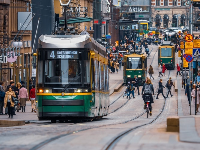 Хранение багажа в Хельсинки