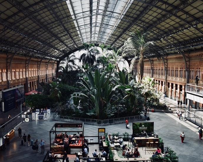 Consigne à bagage sur Gare de Madrid-Atocha