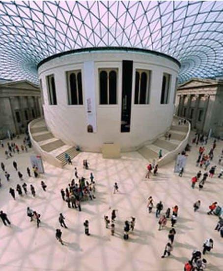 Gepäckaufbewahrung in British Museum London