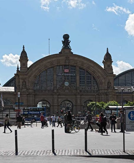 Gepäckaufbewahrung in Frankfurt Main Hauptbahnhof