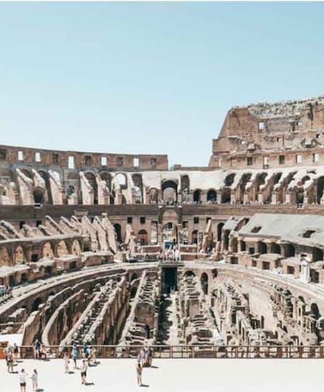 Gepäckaufbewahrung in Colosseum Rome