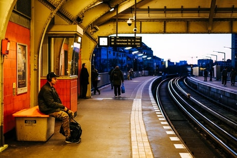 Центральный вокзал Берлина HBF