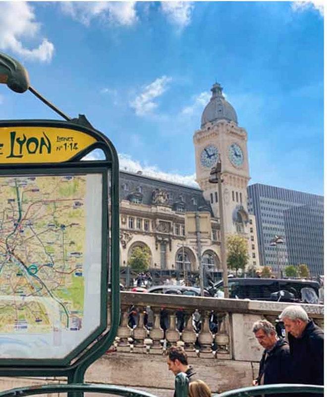 Depósito de Bagagem Gare Montparnasse