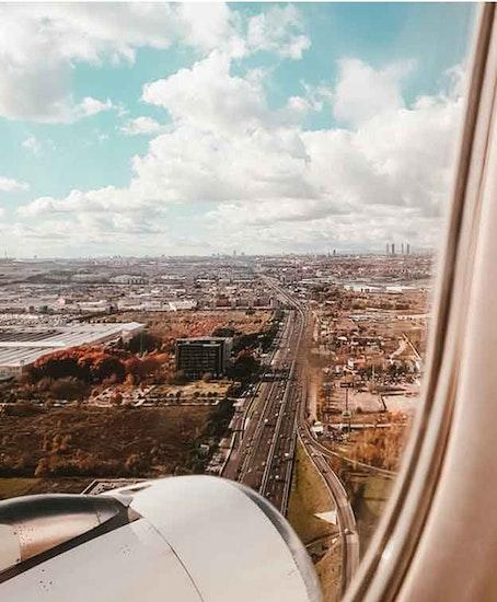 手荷物預かりMadrid Airport